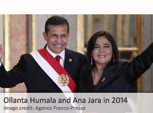 Ollanta Humala and Ana Jara